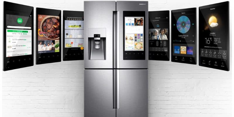 samsung family hub 3 0 vs 2 0 smart refrigerator 2019. Black Bedroom Furniture Sets. Home Design Ideas