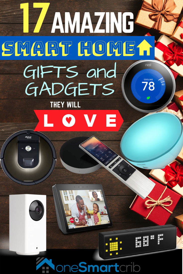 17 Best Smart Home Gift Ideas 2018 Geeky Tech Gadgets 12 Up