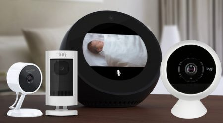 3 Home Security Cameras That Work W Amazon Echo Show Spot