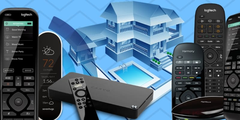 best smart home remotes alexa
