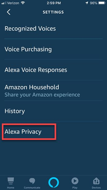 how to stop alexa from recording private conversations