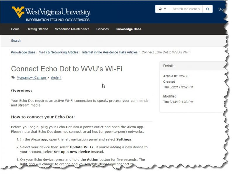Connect Echo and Google to College Wifi