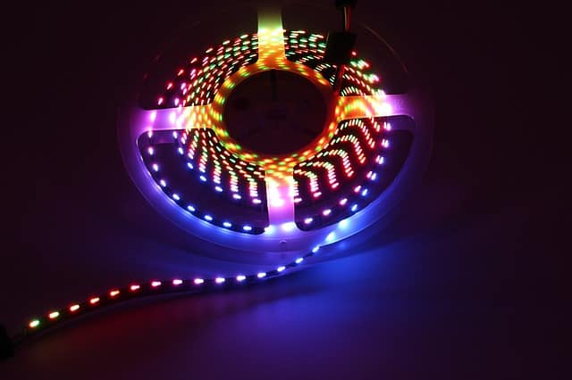 can alexa control led light strips
