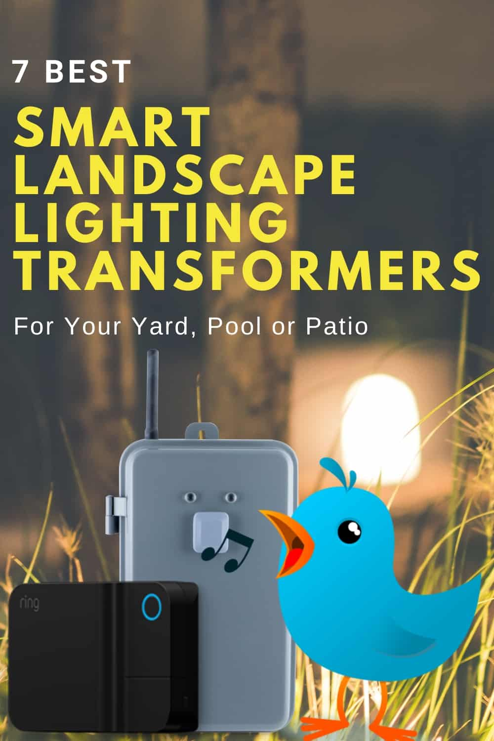 Smart Landscape Lighting Transformers [7 Top Low-Voltage Switches in 2020]