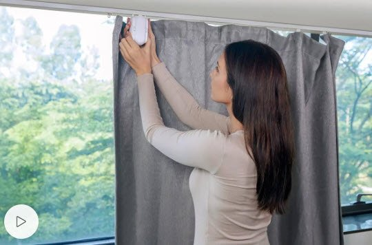 best smart curtains rods