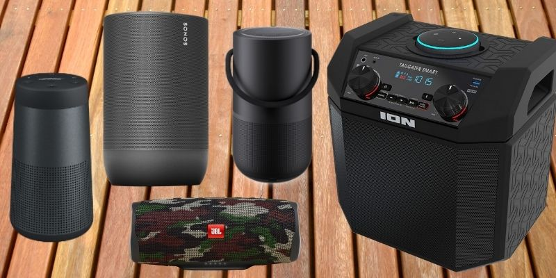 best alexa speakers for outside