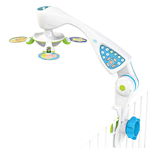 nurture smart baby crib mobile